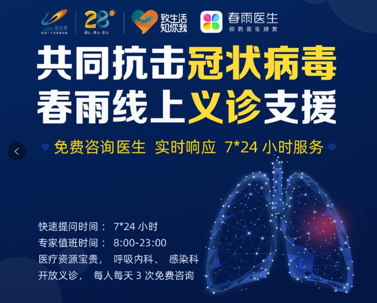 """助力战""""疫"""",碧桂园重庆区域开通线上免费问诊服务"""